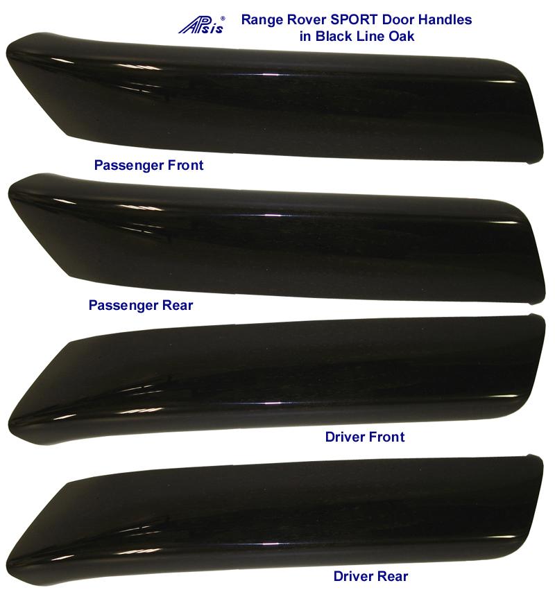 Range Rover Sport - Black Line Oak Door Handles - 768