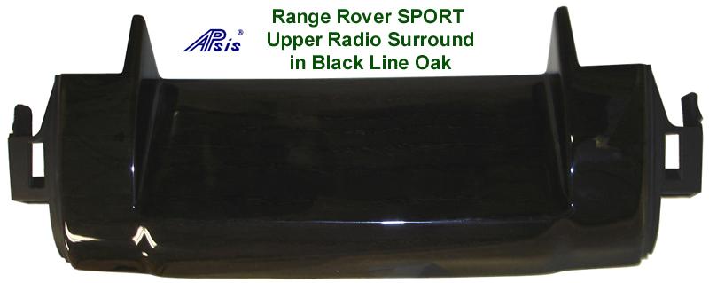 Range Rover Sport - Black Line Oak Upper Radio Surround - 768