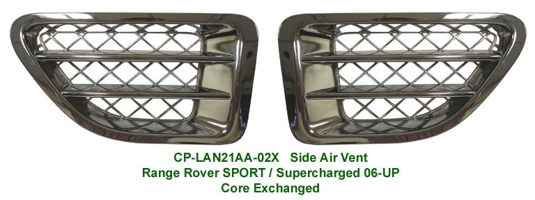 Range Rover Sport-Chrome Driver Side Air Vent - 768p 72P