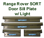 Range Rover Sport Door Sill Plate w-Light-w-description - 130