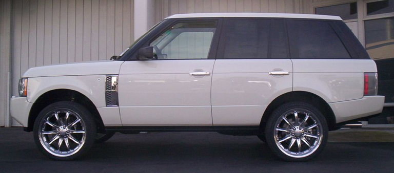 Range Rover Supercharged-Chrome Side Air Vent - 768