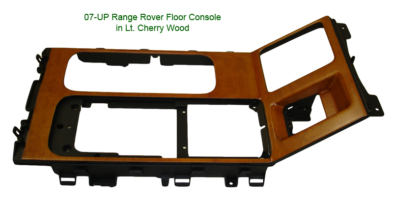 Range Rover floor console only-Lt. Cherry - 300 w- description