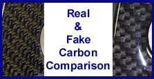 Real & Fake Carbon Comparison