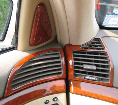 S430 Driver Front Air Vents & Speaker - 450