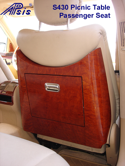 S430 Picnic Table-pair- Passenger seat