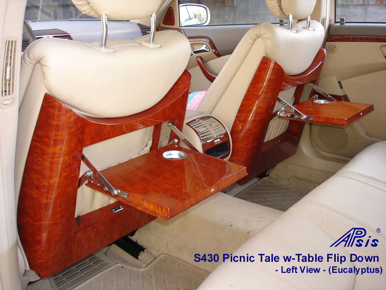 S430 Picnic Table w-Table Flip Down-pair-left view-768