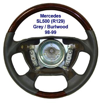 SL500 98-99 grey-burlwood-400