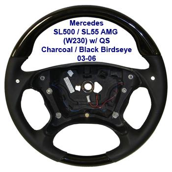 SL500 w qs 03-06-Black-Black Birdseye-400