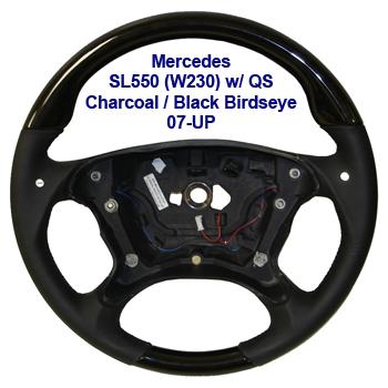 SL550 w QS 07-UP-Charcoal-Black Birdseye-400