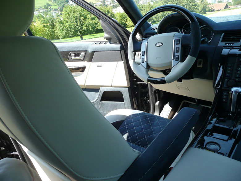 SPORT-Black Lined Oak-installed-Interior Full Dashes-center right view-reto-1