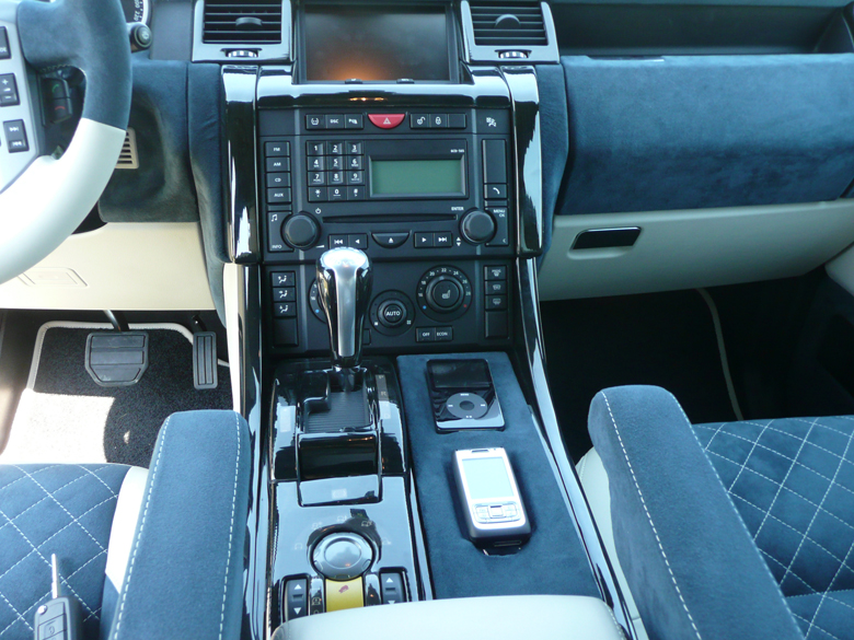 SPORT-Black Lined Oak-installed-Radio Surround & Floor Console-reto-1