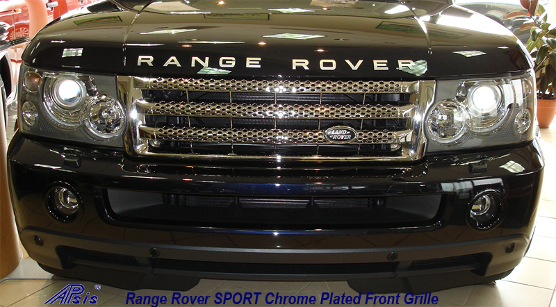 SPORT Chrome Plated Grille-installed