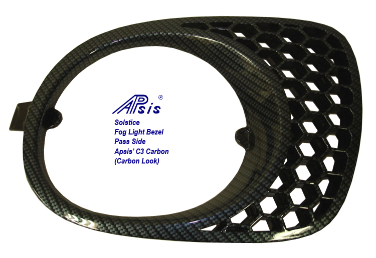Solstice GXP Fog Light Bezel-C3 Carbon-right only-1