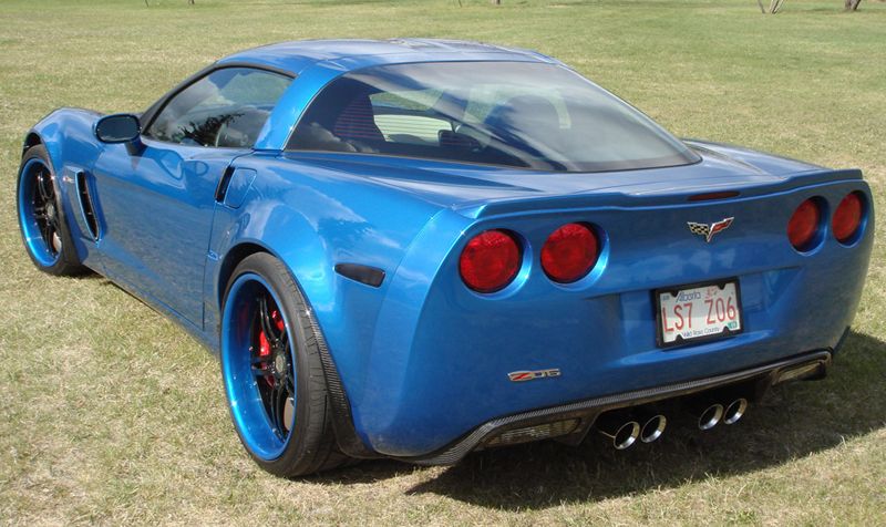 Splash Guard & Exhaust  Diffuser  Whole View on JSB Z06 from Deburgh-4