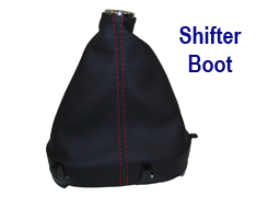 Stick Shifter Boot Nappa Nuance w-Red Stitching 250