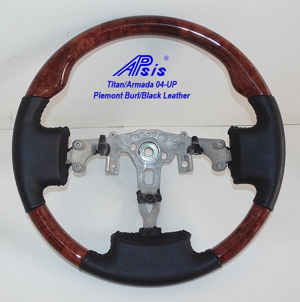 Titan SW-piemont burl + black leather-1