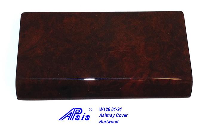 W126 Ashtray Cover-burlwood-1