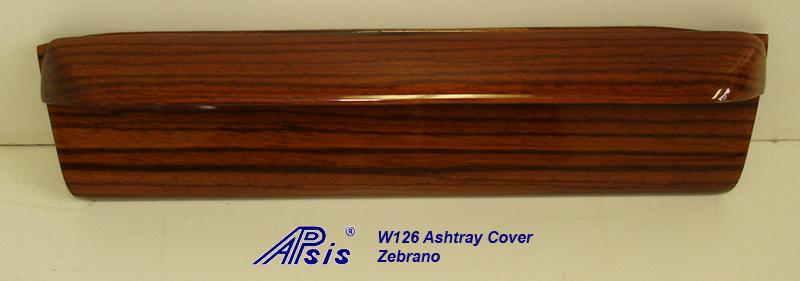 W126 Ashtray Cover-zebrano-1