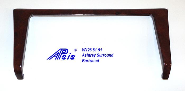 W126 Ashtray Surround-burlwood-1