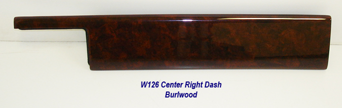 W126 Center Right Dash-burlwood-1