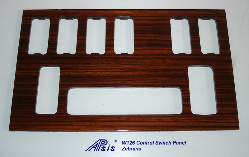W126 Control Swtich Panel-zebrano-3