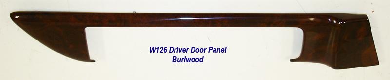W126 Door Panel-burlwood-driver-1