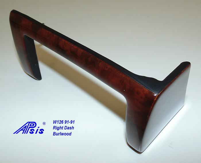 W126 Right Dash-burlwood-1