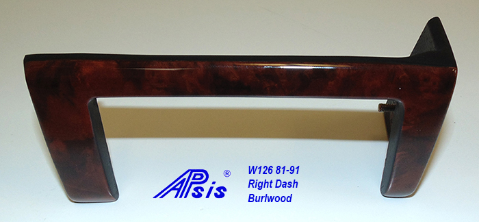 W126 Right Dash-burlwood-2