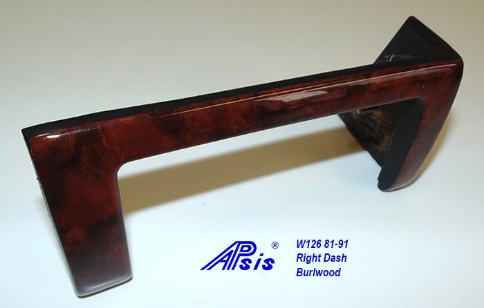 W126 Right Dash-burlwood-3