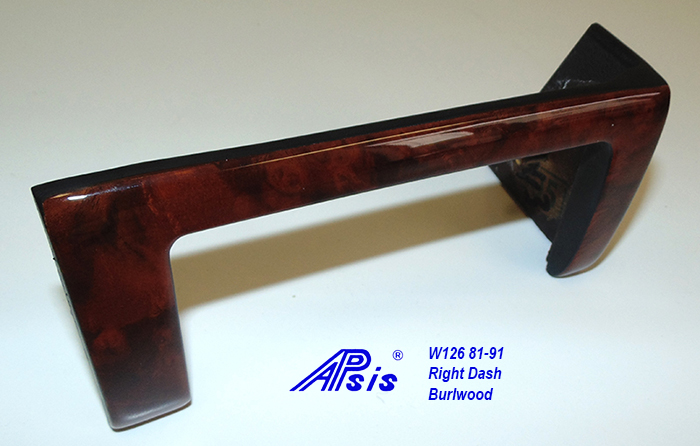 W126 Right Dash-burlwood-3