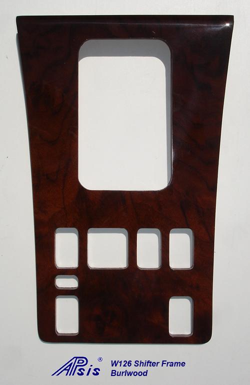 W126 Shifter Frame-burlwood-1