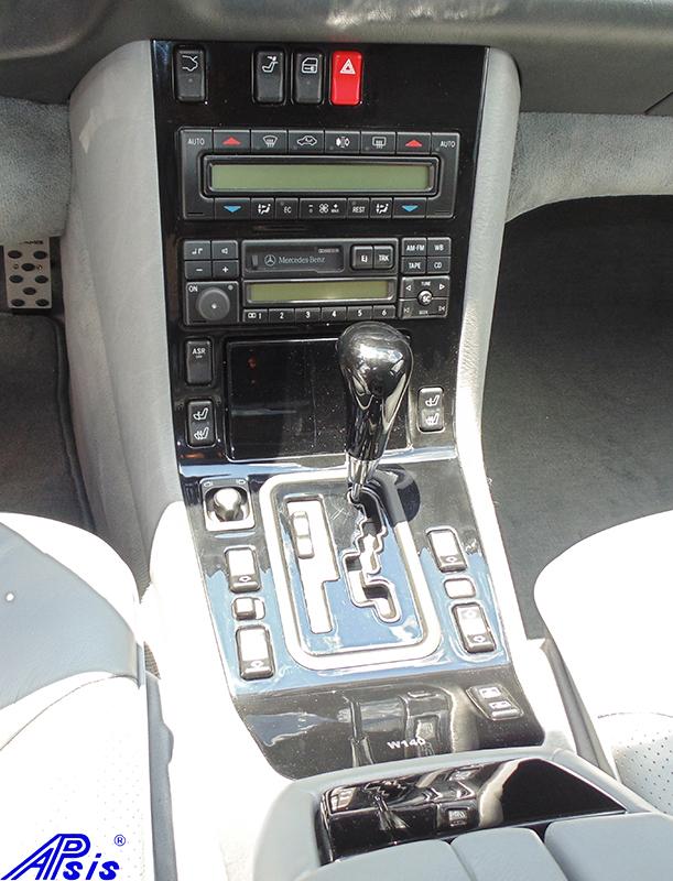 W140 Center Console-black piano-1