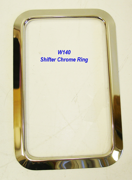W140 Chrome Shifter Ring-1