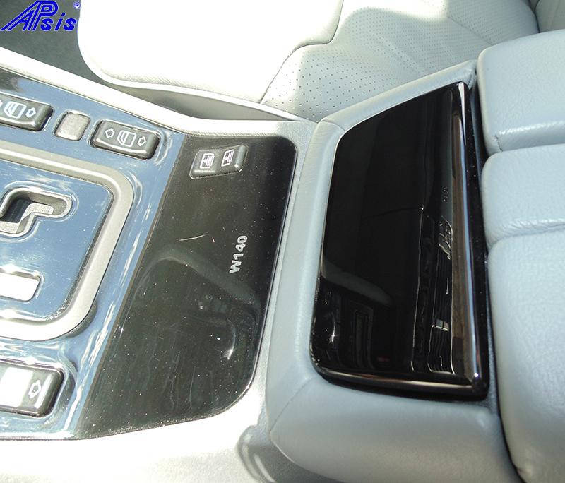 W140 Floor Console-black piano-3