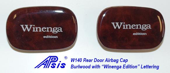 W140 Rear Door Airbag Cap-1