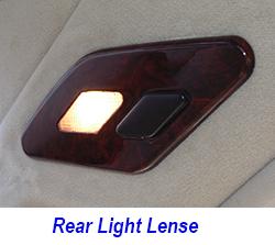 W140 Rear Light Lense-Installed-1 250