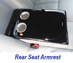 W140 Rear Seat Armrest-black piano 250