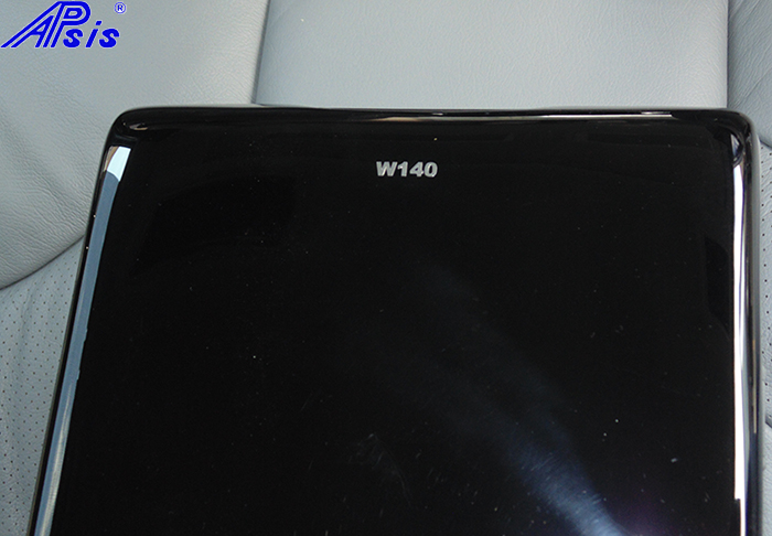 W140 Rear Seat Armrest-black piano-4