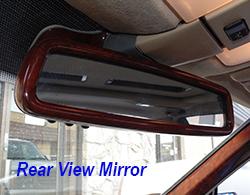 W140 Rear View Mirror-Installed-1 250