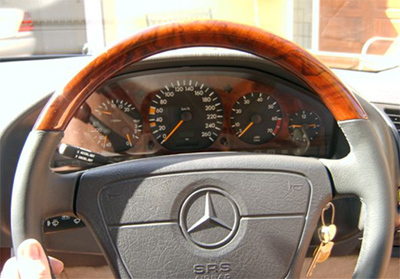 W140 Steering Wheel 92-99