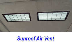 W140 Sunroof Air Vent-Installed-1 250