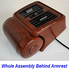 W140 Whole Assembly Behind Armrest-burlwood-individual-3a 230