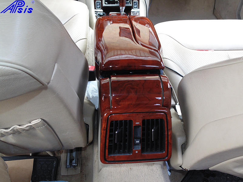 W140 Whole Assembly Behind Armrest-burlwood-installed-3
