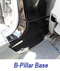 W140 b-pillar base-plack piano-1 200