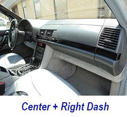 W140 center+right dash-black piano-1 250