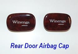 W140 rear door airbag cap-1 250