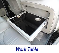 W140 work table-black piano 250