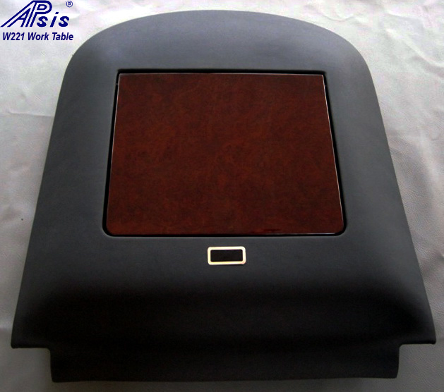 W221 Work Table w-black leather-1-individual