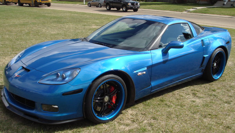 Whole View on JSB Z06 from Deburgh-