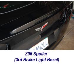 Z06 CF Spoiler-3rd brake light 250
